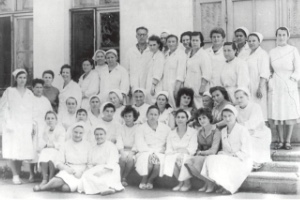 1957 год ОТКРЫТА БОЛЬНИЦА
