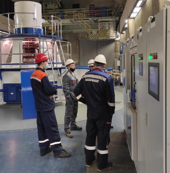 Испытания оборудования для гидроагрегата ст. № 1 на Верхне-Туломской ГЭС