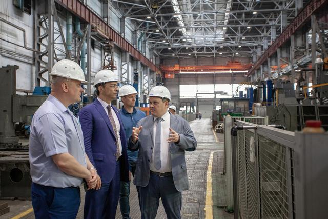 Депутат Госдумы РФ Владимир Гутенёв на АО «ТЯЖМАШ»