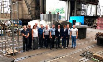 Состоялись функциональные испытания рабочего колеса для Верхне-Туломской ГЭС