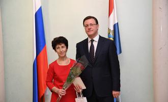 Врио губернатора Самарской области наградил заводчан
