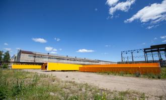 Первый кран попроекту «Арктик СПГ-2» ожидает отгрузки