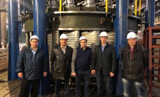 Состоялись испытания направляющего аппарата для Верхне-Туломской ГЭС
