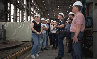 «ТЯЖМАШ» встретил делегацию изкрупной научной организации АО«Институт Гидропроект»