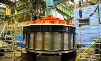 Гидроагрегат №1Белореченской ГЭС введен вэксплуатацию