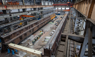 Завершается изготовление первого крана попроекту «Арктик СПГ-2»