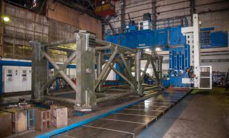 Завод приступил кмеханообработке первых металлоконструкций для космодрома Восточный