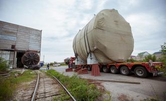 Отгружен транспортный шлюз для Ленинградской АЭС-2