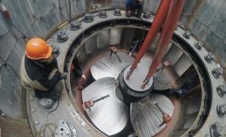 Белопорожская МГЭС-1с оборудованием производства АО«ТЯЖМАШ» введена впромышленную эксплуатацию